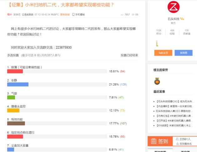 Xiaomi Mi Robot Vacuum 2 encuesta