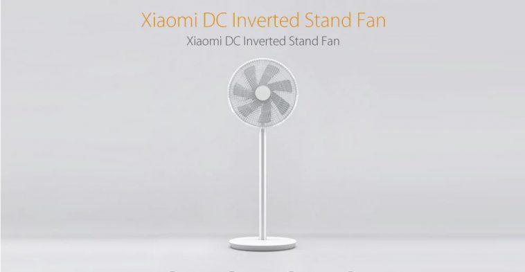 Xiaomi Mi Smart DC Inverted Stand Fan, un ventilador inteligente que podemos controlar con el móvil