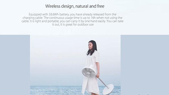 Xiaomi Mi Smart DC Inverted Stand Fan características