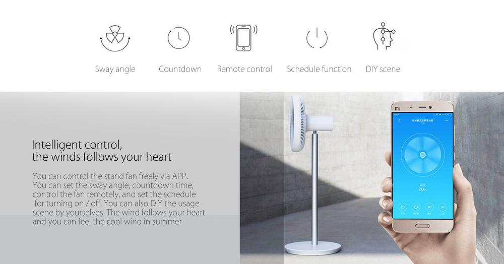 Xiaomi Mi Smart DC Inverted Stand Fan sincronización
