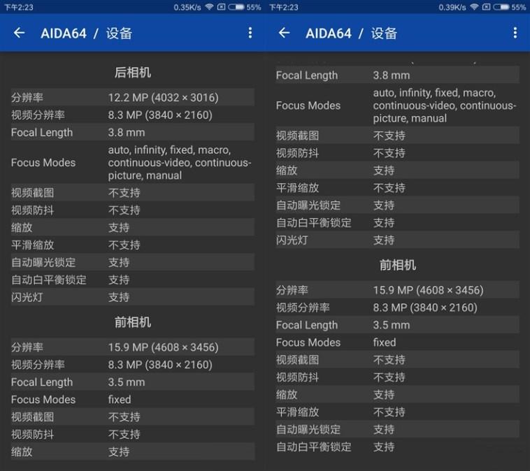 Xiaomi Mi Note 3 - Especificaciones cámara