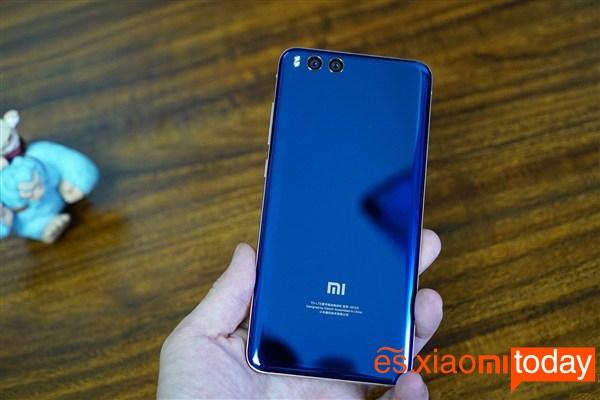 Xiaomi Mi Note 3 Parte trasera