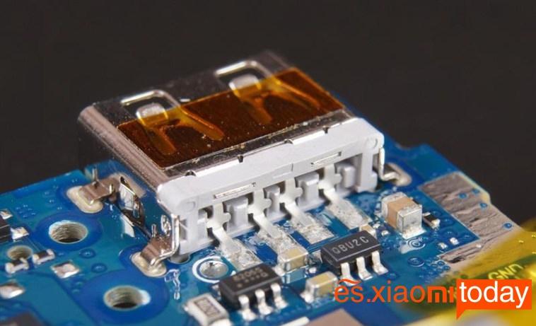 Xiaomi Power Bank desmontaje 10
