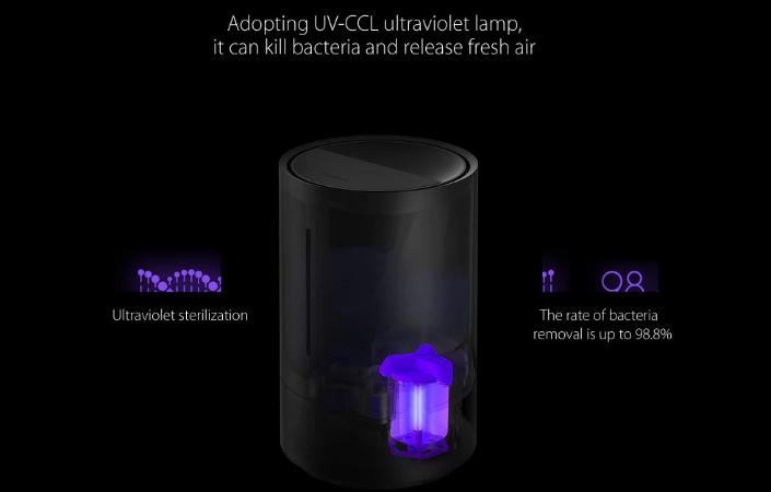 Humidificador Xiaomi CJJSQ01ZM lámpara ultravioleta