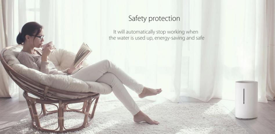 Humidificador Xiaomi CJJSQ01ZM protección