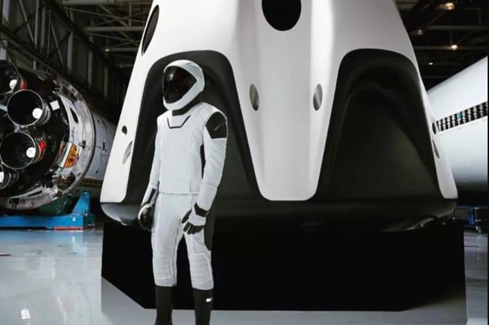 Trajes Espaciales de SpaceX: traje completo