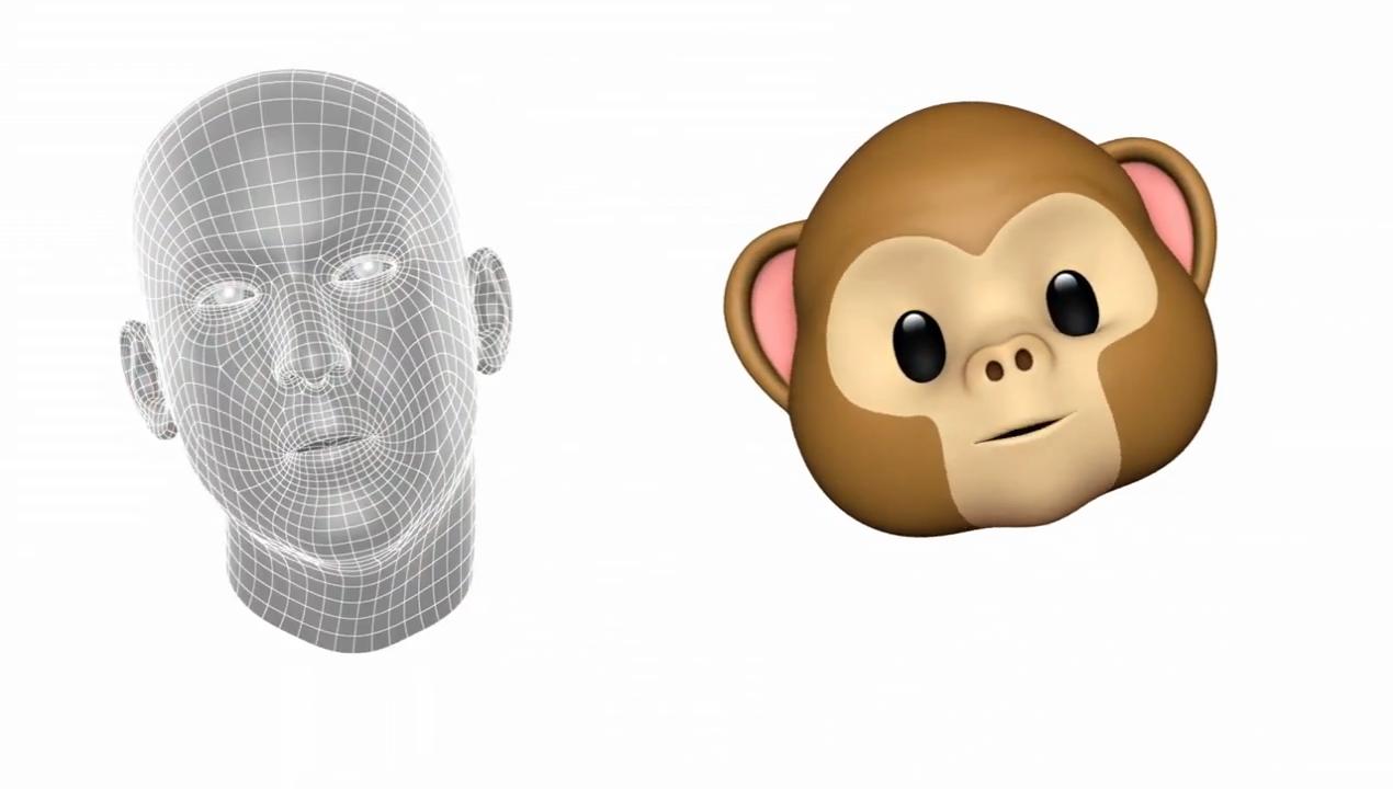iPhone X emojis 3D