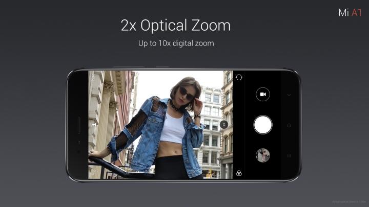 zoom óptico x2