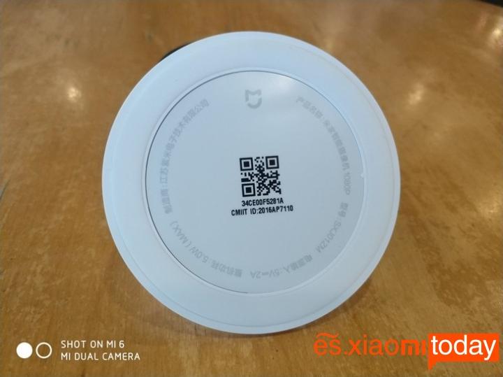 Cámara Xiaomi Mijia 1080P anillo antideslizante