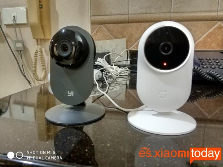 Cámara Xiaomi Mijia 1080P vs Yi