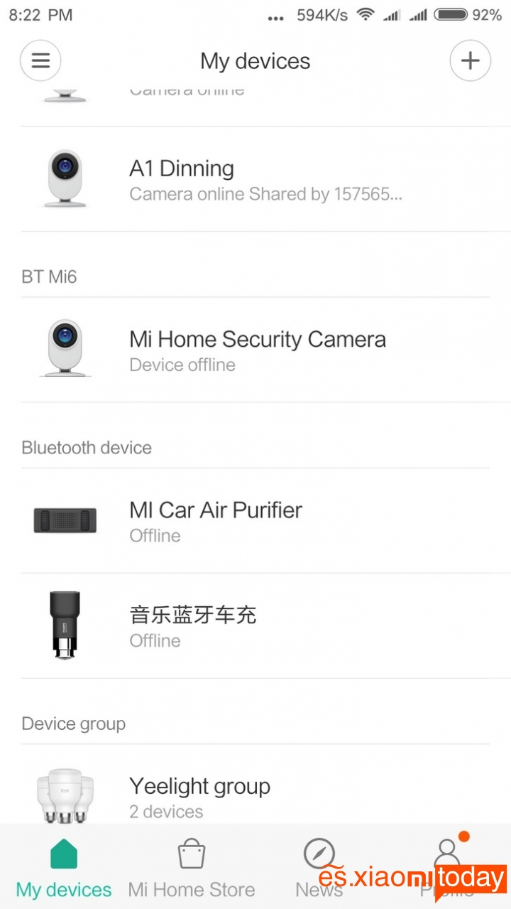 Cámara Xiaomi Mijia 1080P Smart IP conexiones