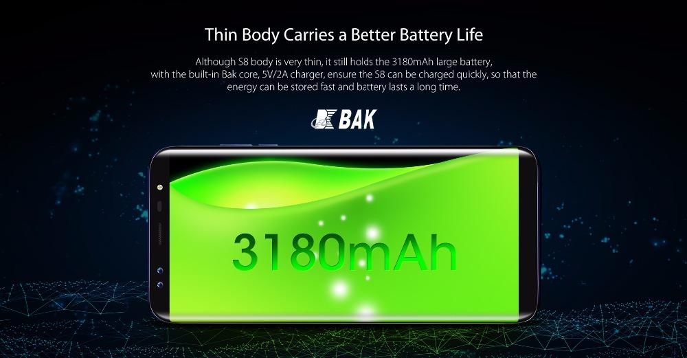 Blackview S8 batería