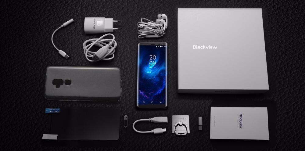 Blackview S8 paquete