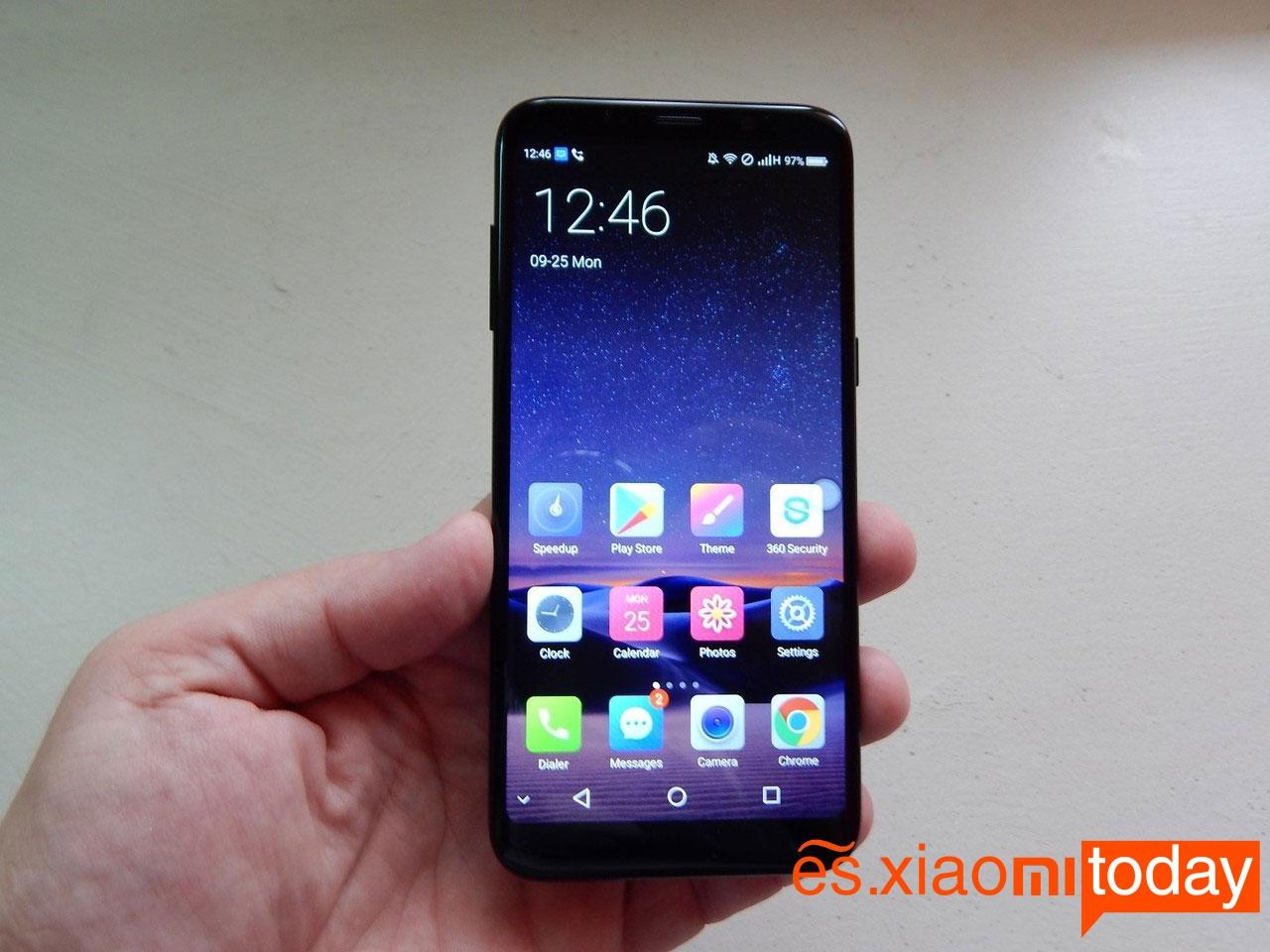 Bluboo S8 pantalla