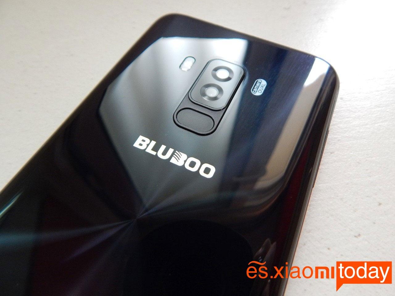 Bluboo S8 parte trasera