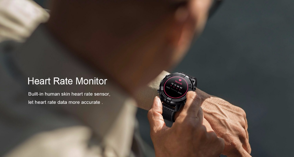 LEMFO LEM6 monitor de ritmo cardíaco