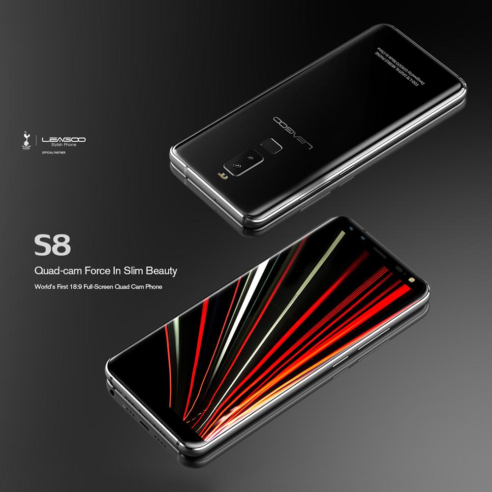Leagoo S8 Diseño