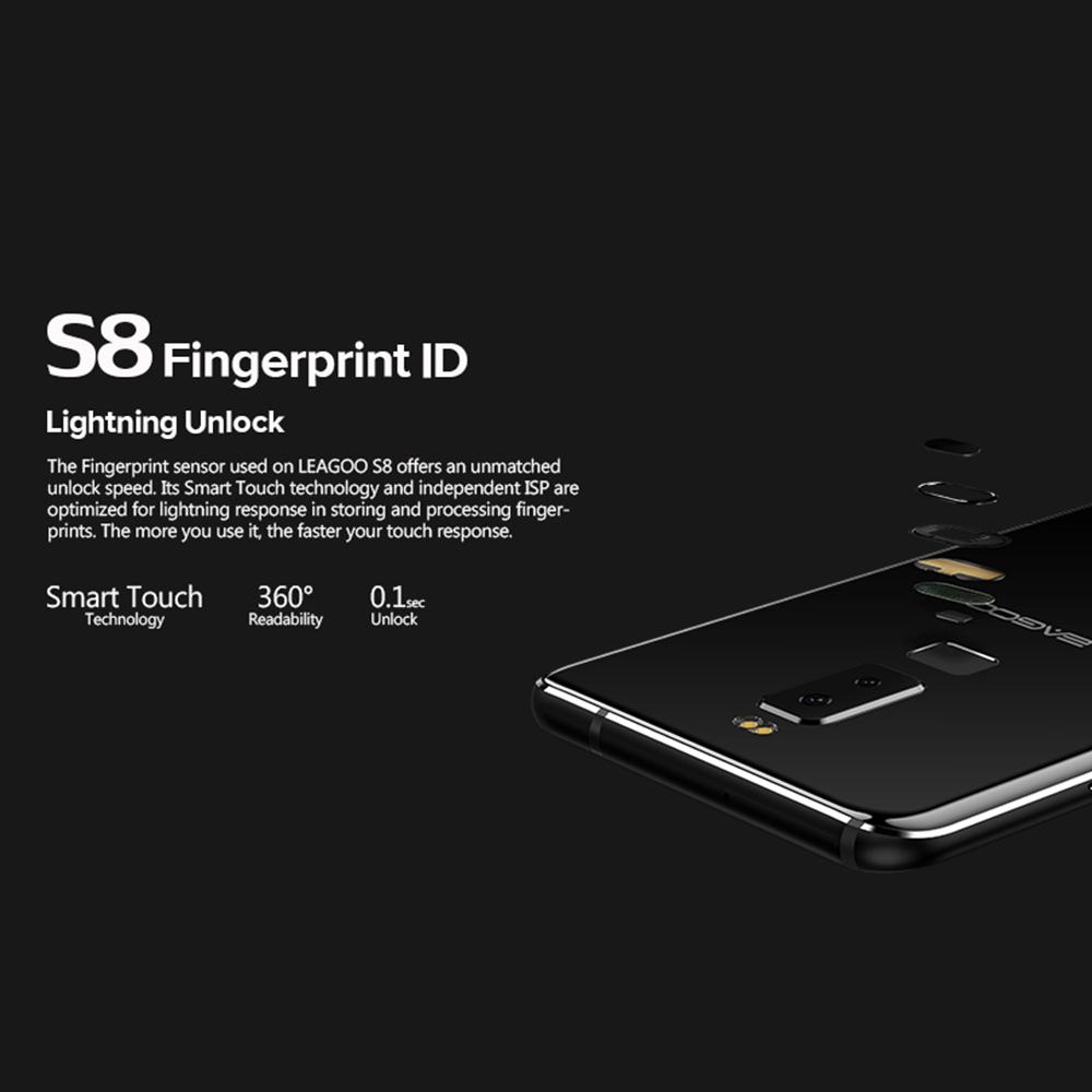 Leagoo S8 Sensor