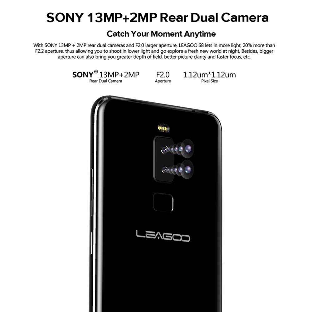 Leagoo S8 cámara trasera