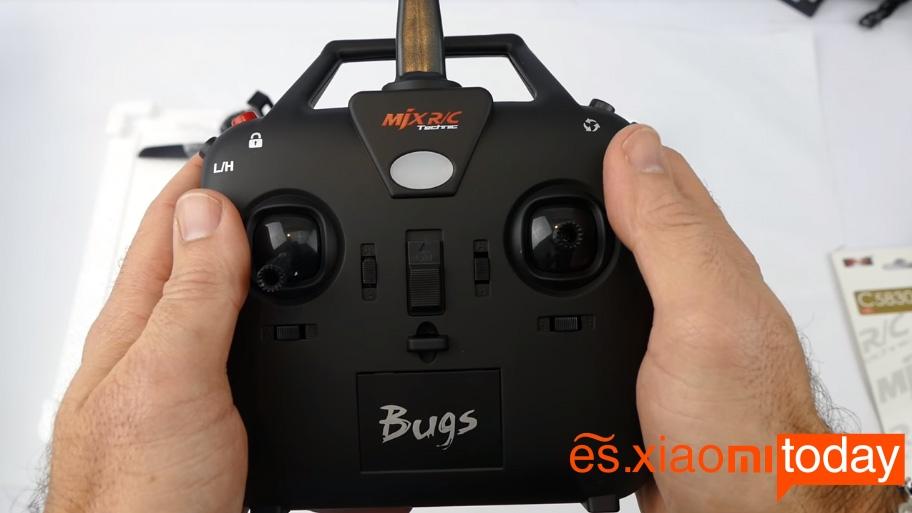 MJX BUGS 6 control