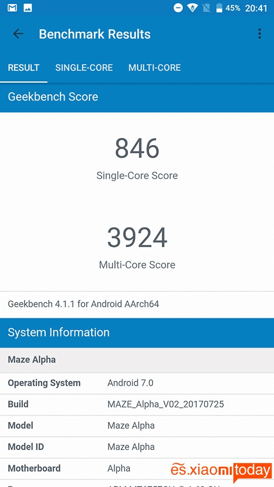 Maze Alpha pruebas 02