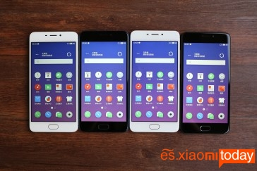 Meizu M6 pantallas