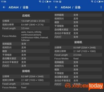 Meizu M6 cámara