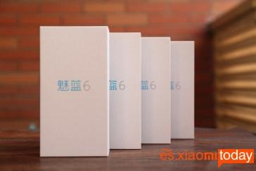 Meizu M6 empaque