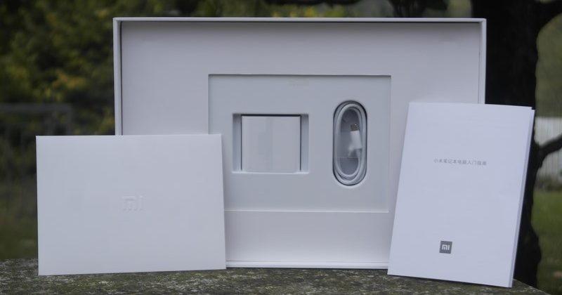 Xiaomi Mi Notebook Pro GTX 1050 unboxing