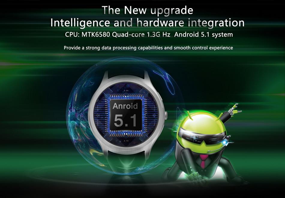 NO.1 D5 Pro 3G sistema operativo