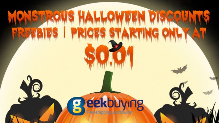 Ofertas de Halloween Geekbuying-destacada