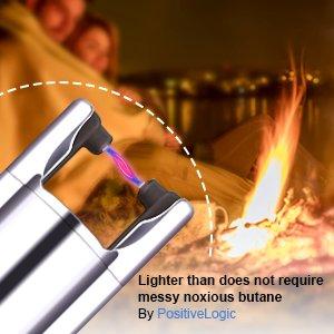 Tacklife ELY01 Advanced Electric-Arc Lighter - neck