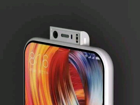 Xiaomi Mi MIX 3 cámara frontal