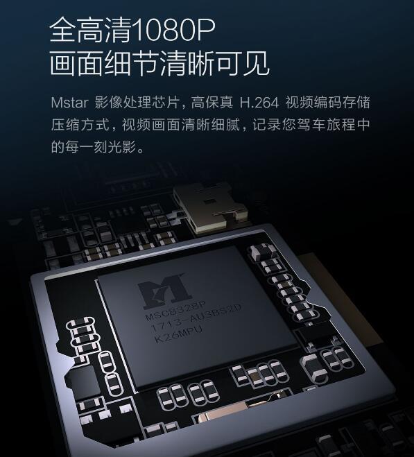 Xiaomi 70 Steps Car DVR Hardware