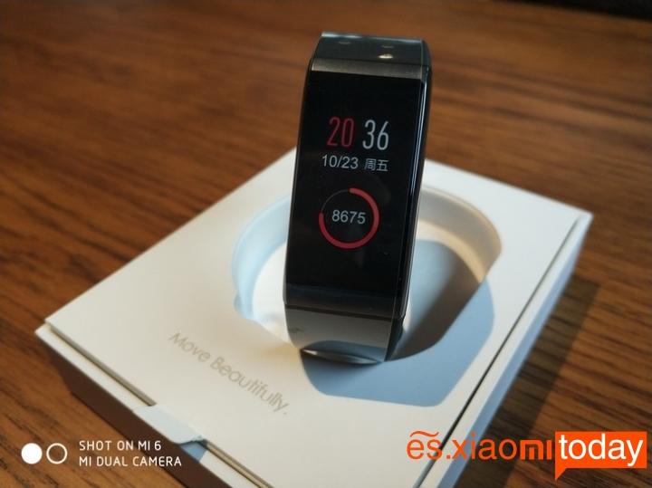 Xiaomi Huami AMAZFIT pantalla