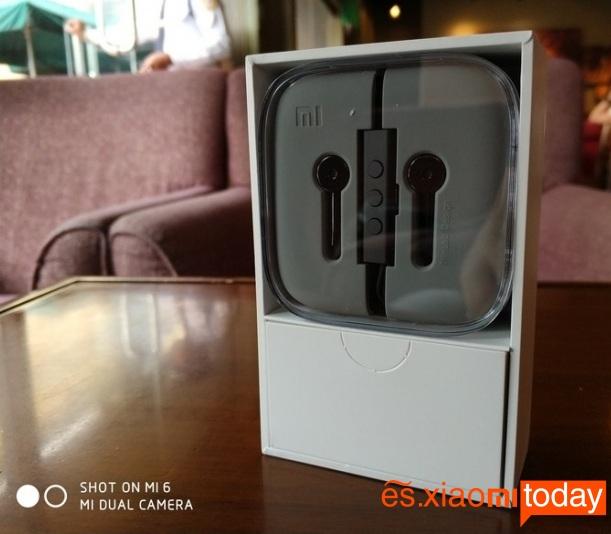 Xiaomi Mi ANC contenido de la caja