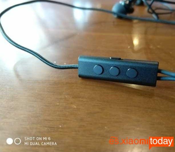 Xiaomi Mi ANC panel de control