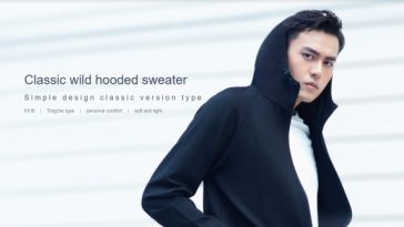 Xiaomi Mi Classic Wild Hooded Sweater destacada