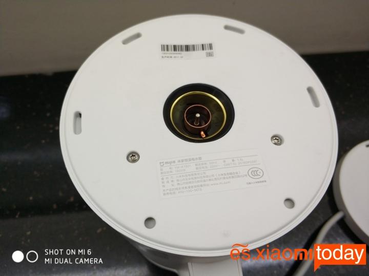 Xiaomi Mi Electric Kettle base de carga