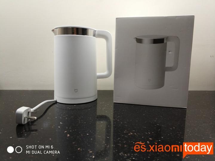 Xiaomi Mi Electric Kettle contenido de la caja