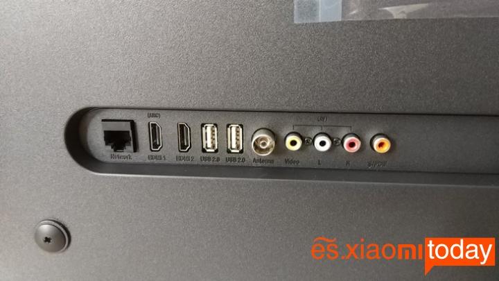 Xiaomi Mi TV 4A interfaces