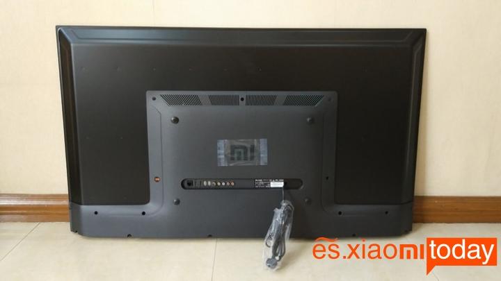 Xiaomi Mi TV 4A parte posterior