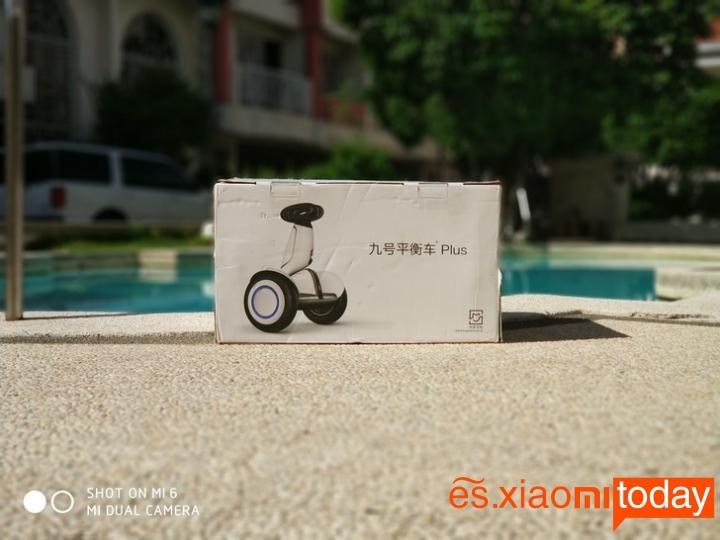 Xiaomi Ninebot Plus caja