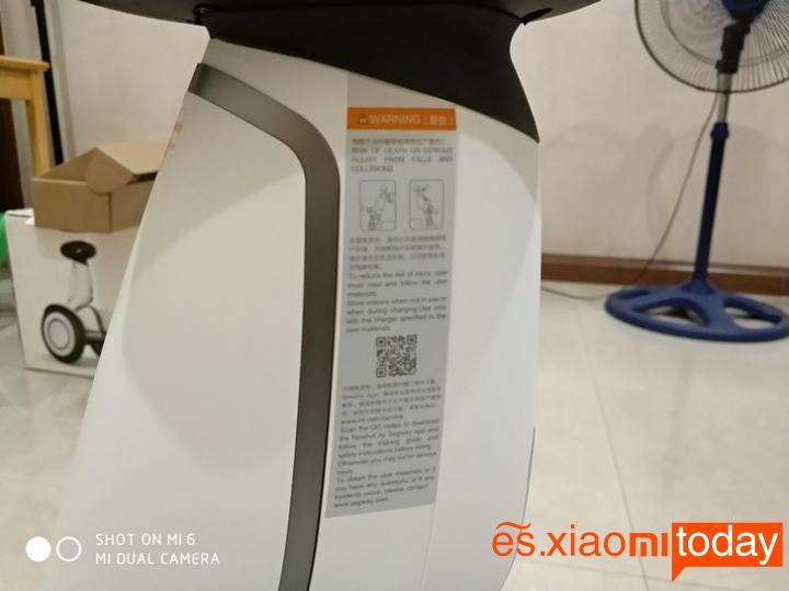 Xiaomi Ninebot Plus certificado ipx6