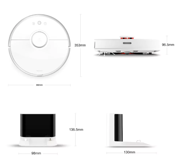 Xiaomi Robot Vacuun New Generation Diseño