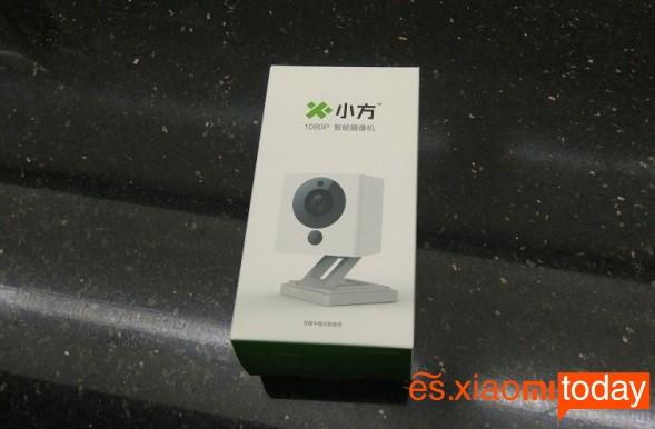 Xiaomi Xiaofang Smart 1080P caja parte frontal