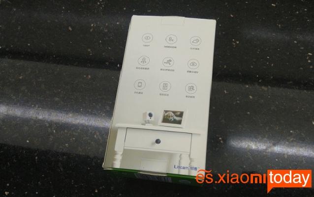 Xiaomi Xiaofang Smart 1080P caja parte posterior