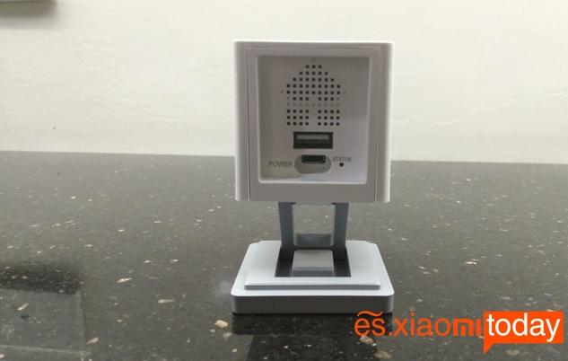 Xiaomi Xiaofang Smart 1080P parte posterior