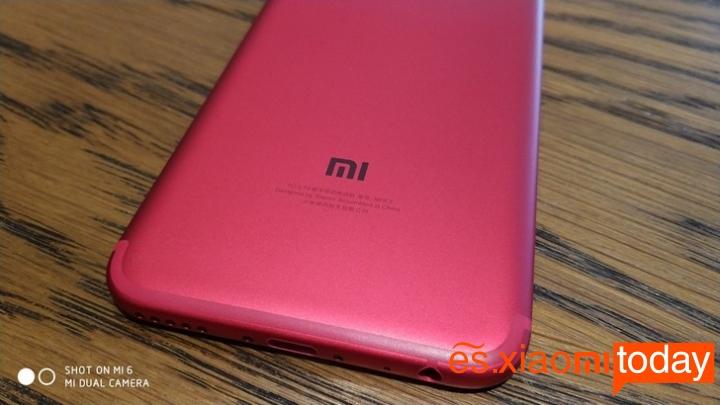 Xiaomi Mi 5X Rojo