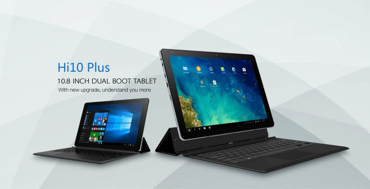 Xiaomi Tablet 2 en 1 Chuwi Hi10 Plus
